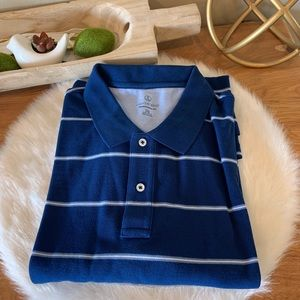NWT- Lands End striped polo